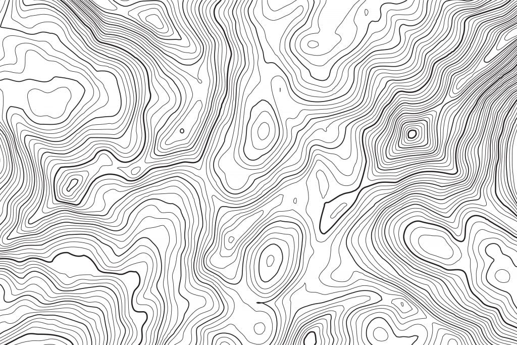 Topographical Map describing Chinese medicine