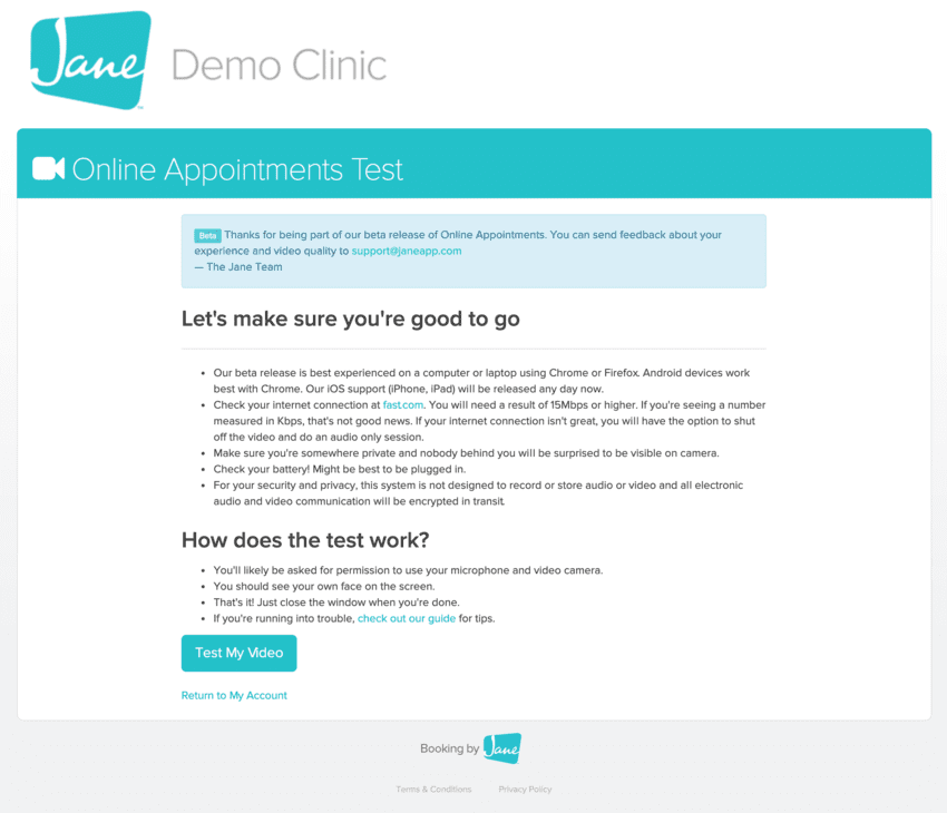 Demo Clinic Graphic Example