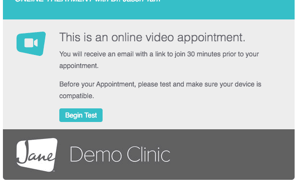 Demo Clinic Example Placeholder